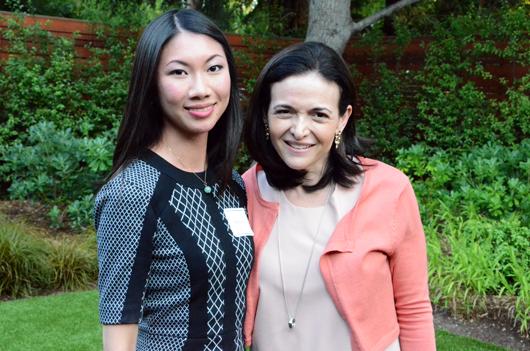 Sheryl Sandberg Sarah Kwan